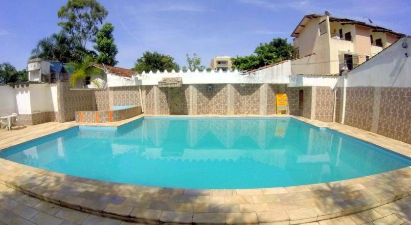 The swimming pool at or near Pousada Pantanal
