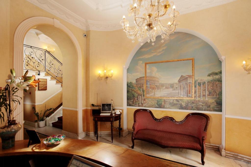 Et sittehjørne på Hotel Solis