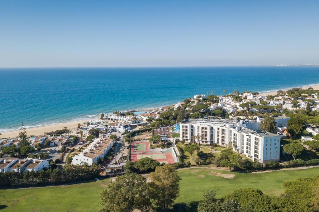 A bird's-eye view of Dona Filipa Hotel