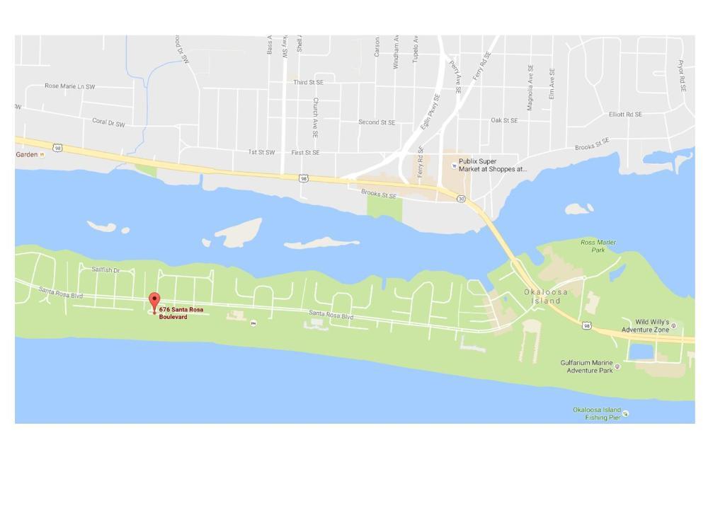 Map Of Fort Walton Beach Florida.Island Echos 2m Apartment Fort Walton Beach Fl Booking Com