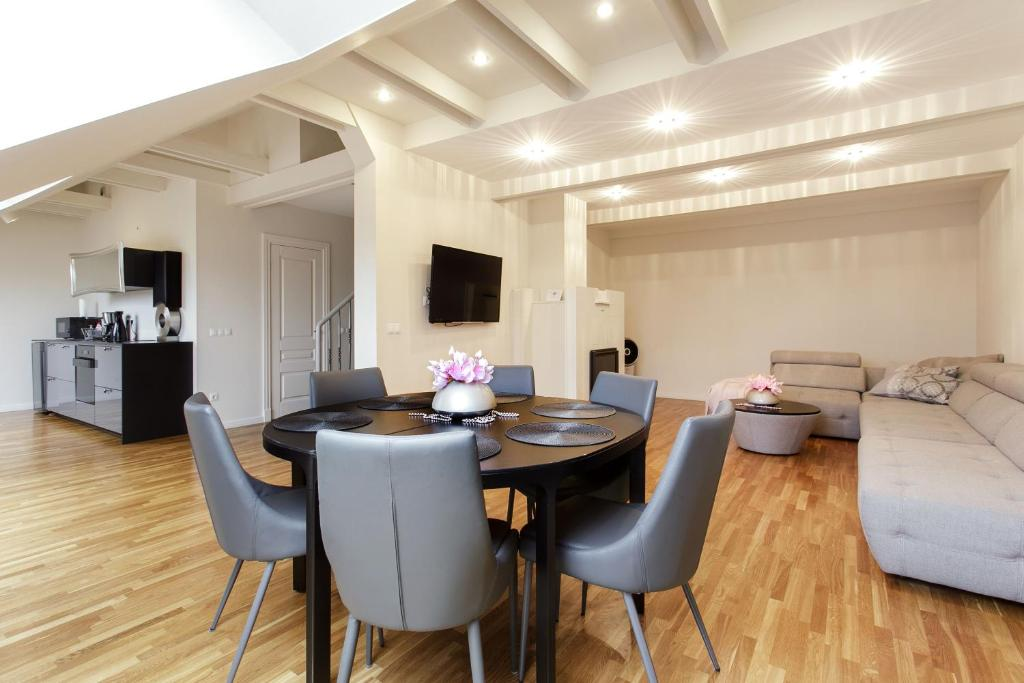 modern penthouse. Gallery image of this property Apartment Modern Penthouse in the City Center  Vilnius Lithuania