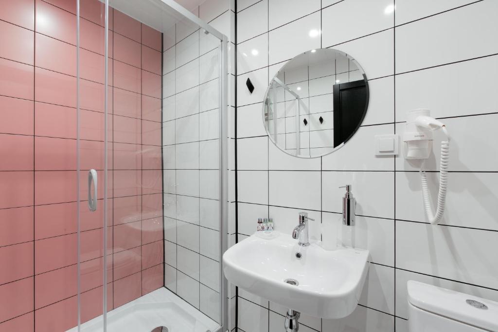Ванная комната в Покровка 6 Отель