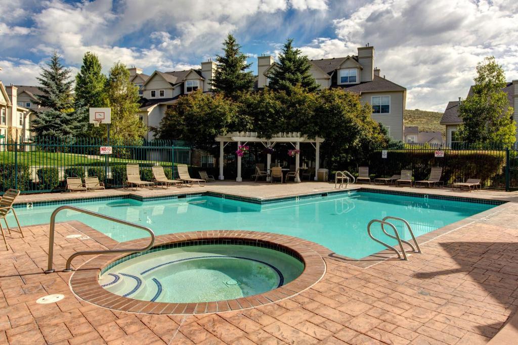 Apartment Stream & Mountain Views at Canyon Creek, Park City, UT ...