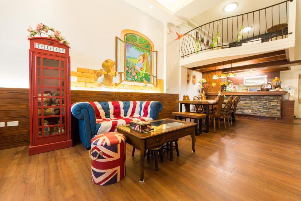 羅東英式鄉村小棧民宿餐廳或用餐的地方