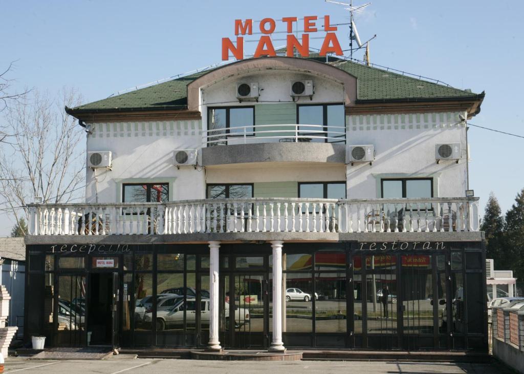 Zgrada u kojoj se nalazi motel