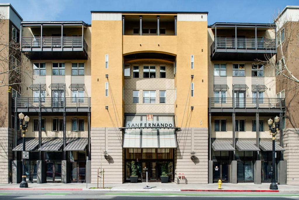 Apartment Global Luxury Suites At San Fernando Street San Jose CA Extraordinary 2 Bedroom Apartments For Rent In San Jose Ca Painting