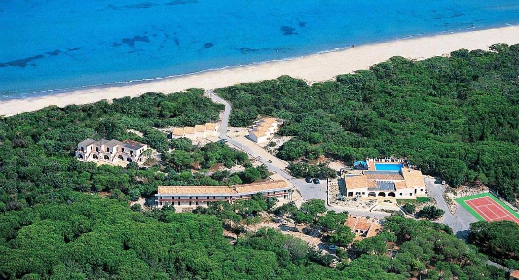 Vista aerea di La Plata Beach Hotel