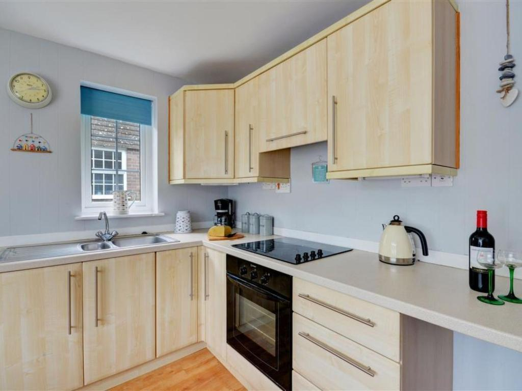 A kitchen or kitchenette at Holiday Home Granite.3