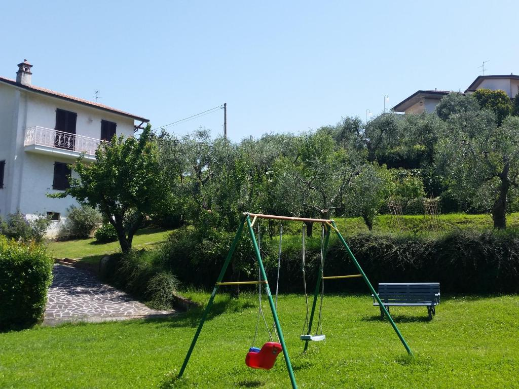 Children's play area at Casa Vittoria