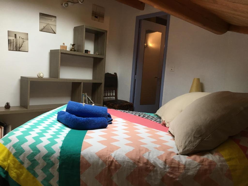 Un ou plusieurs lits dans un hébergement de l'établissement Le Moulin