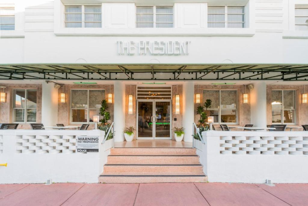 Our Hotel President Hotel South Beach Boutique Hotel