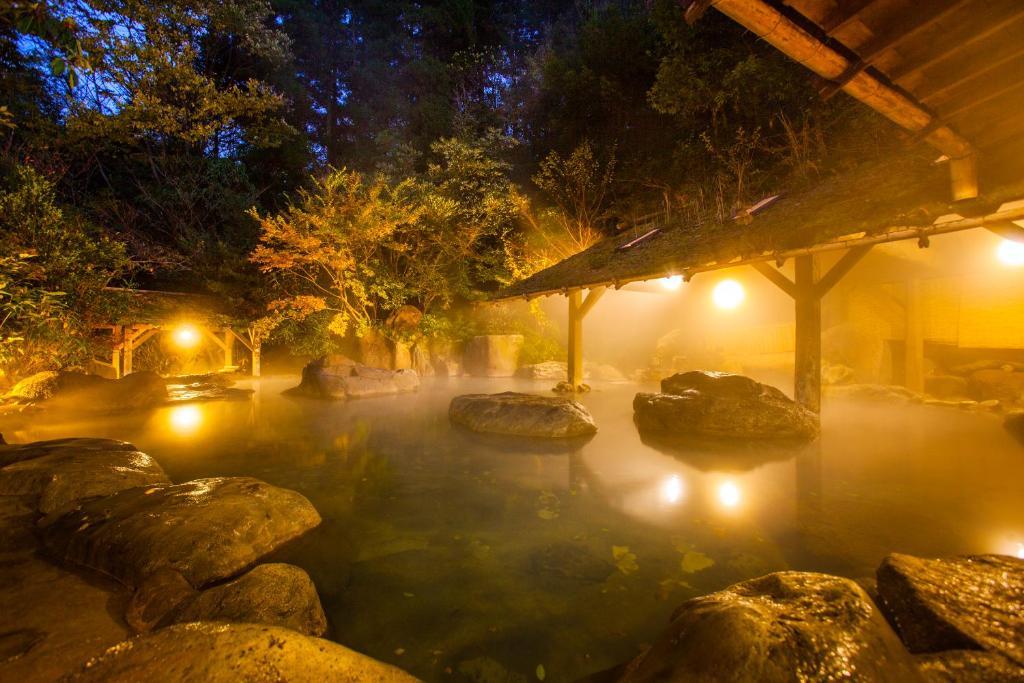 ポイント3.2つの源泉を持つ天然温泉