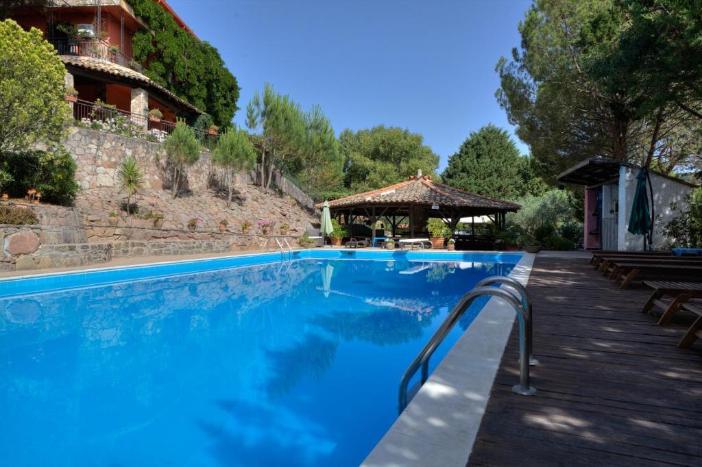 The swimming pool at or near Agriturismo Al Poggetto