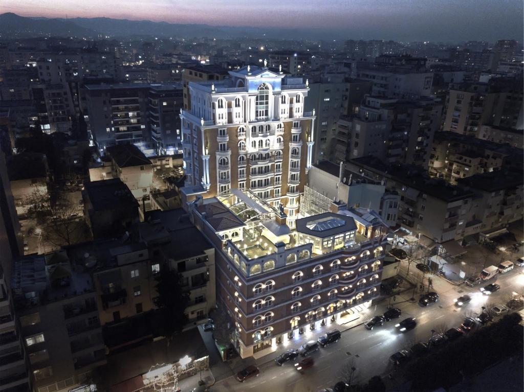 A bird's-eye view of Xheko Imperial Luxury Boutique Hotel