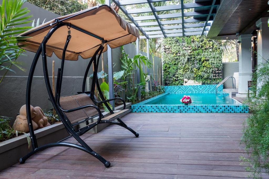 The swimming pool at or near Riva Gold Coast