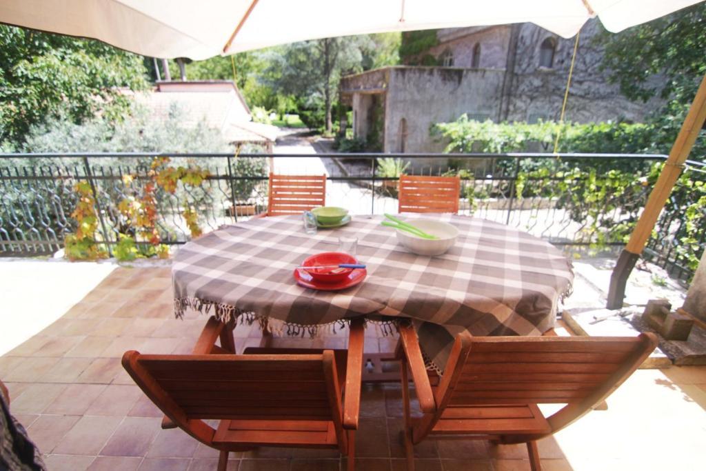 A balcony or terrace at Appartamento Nocciolo
