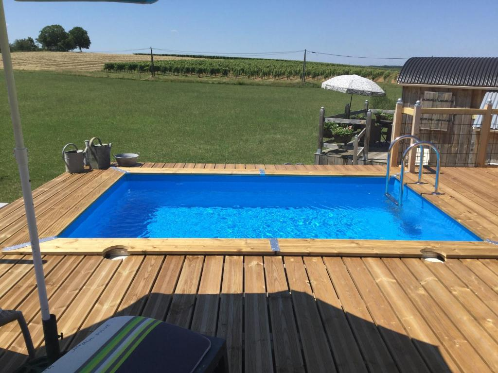 The swimming pool at or near Shepherd's Hut