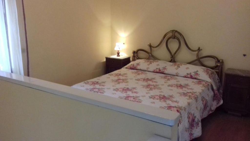 Un ou plusieurs lits dans un hébergement de l'établissement B&B IL BORGO ANTICO