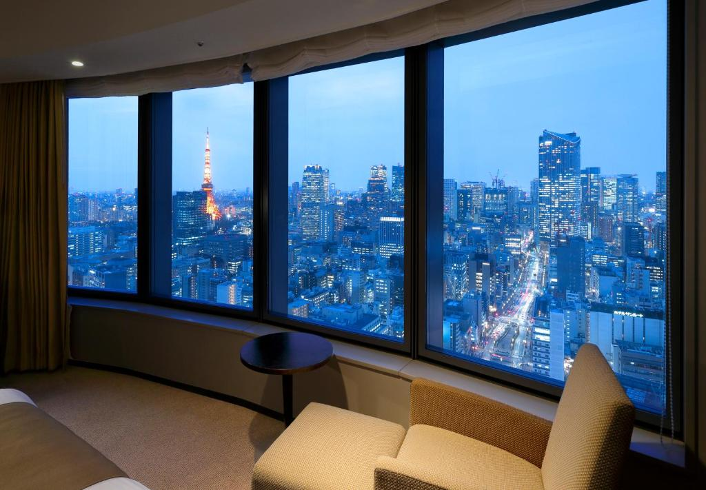 A general view of Tokyo or a view of the city taken from the hotel