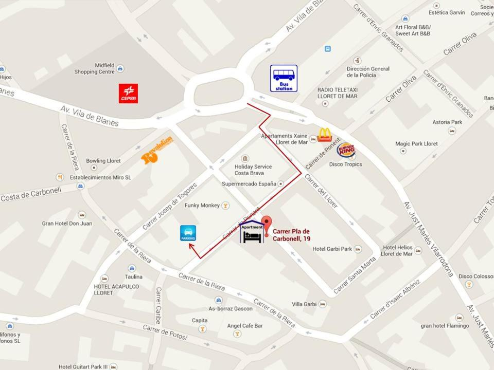 Apartamentos SOL Center Lloret Lloret de Mar Spain Bookingcom