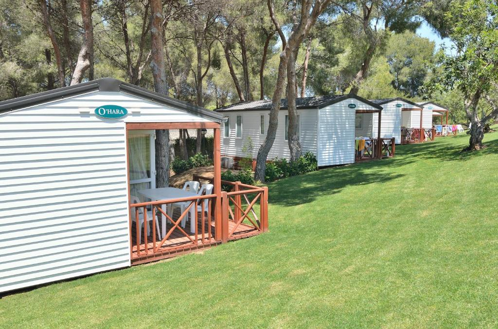 Campings con bungalows