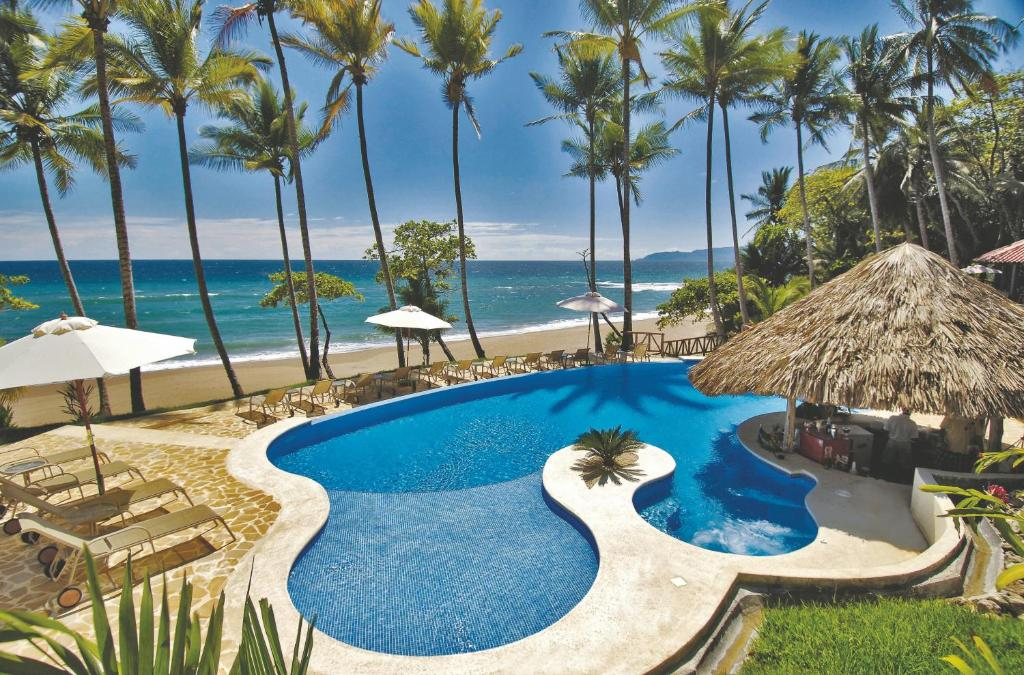 A view of the pool at Tango Mar Beachfront Boutique Hotel & Villas or nearby