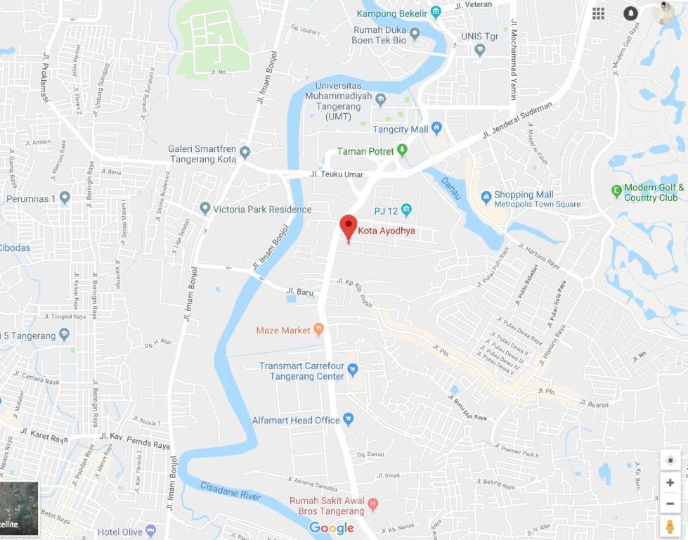 Apartemen Kota Ayodhya Tangerang Indonesia Bookingcom