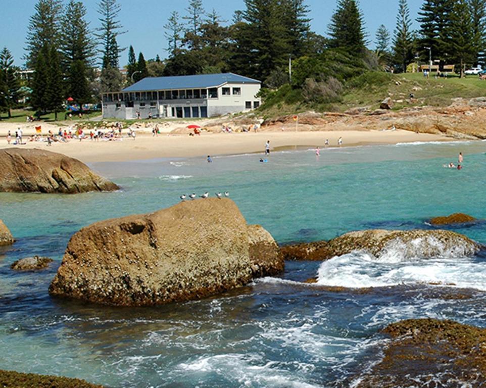 horseshoe bay holiday park south west rocks australia. Black Bedroom Furniture Sets. Home Design Ideas