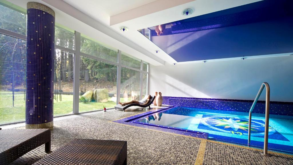 The swimming pool at or close to Spa & Wellness Hotel St. Moritz