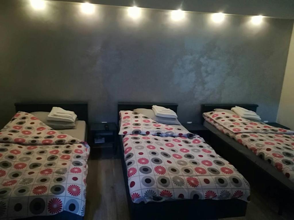 Postelja oz. postelje v sobi nastanitve Konak Garavi sokak