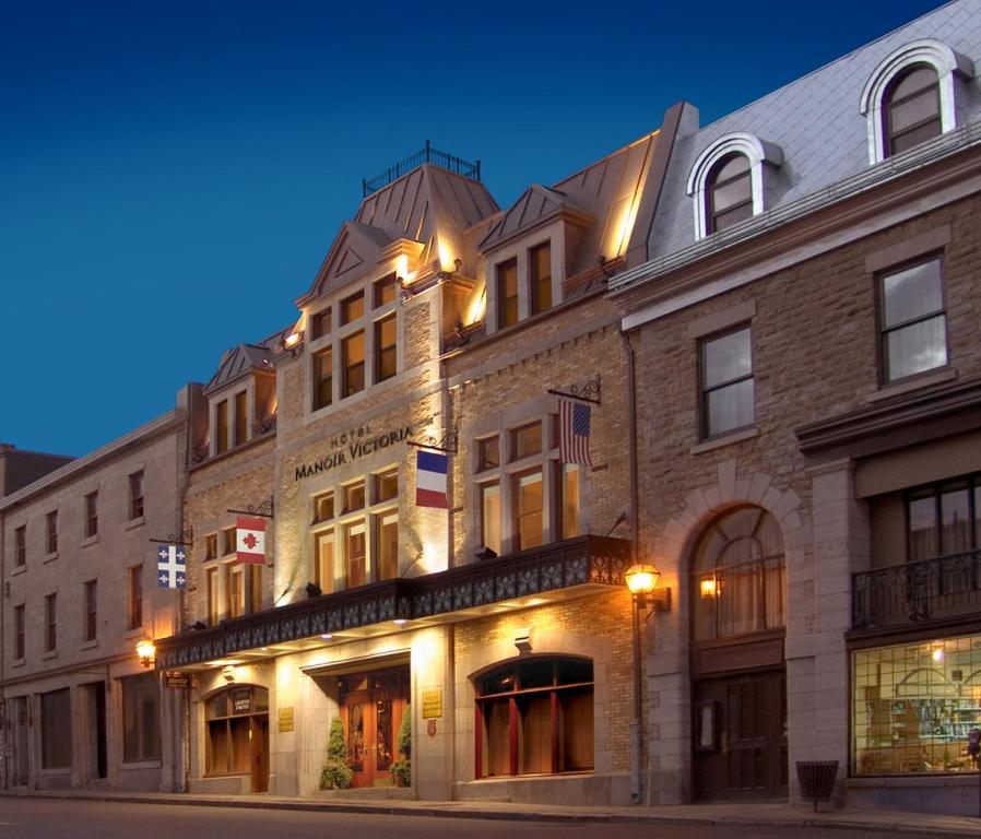 Hotel manoir victoria quebec city canada for Le marde hotel