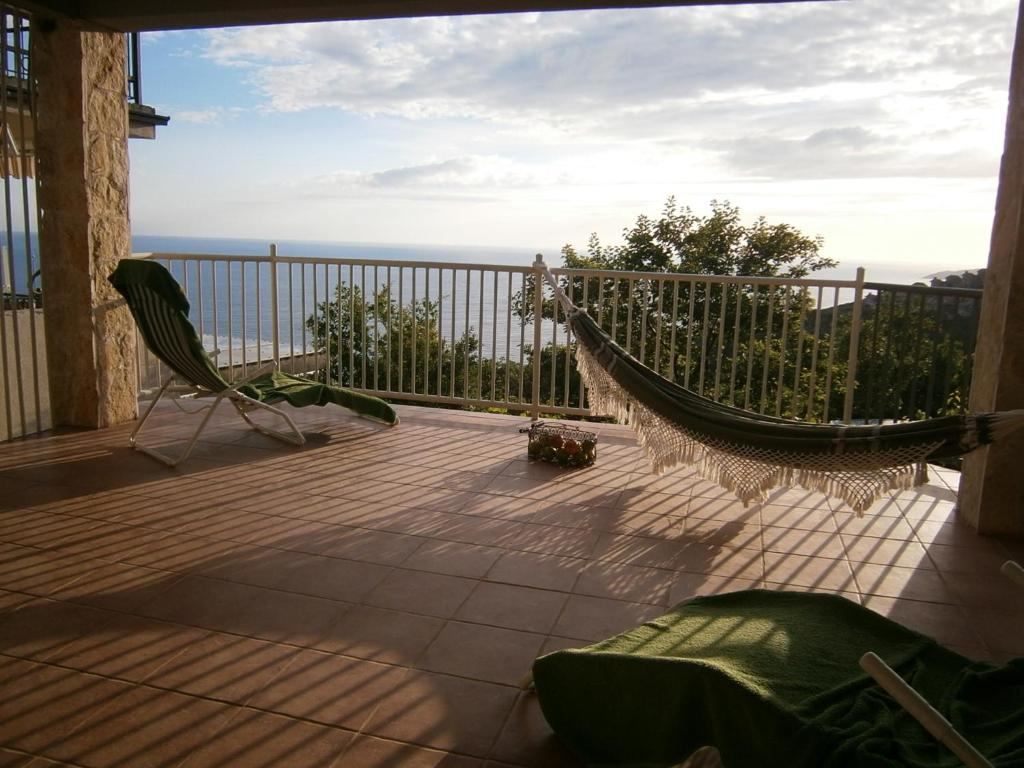 A balcony or terrace at Studios Peric