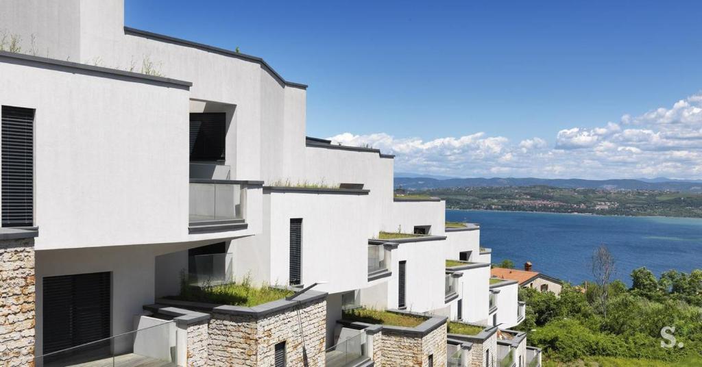 Modern Minimalist Luxury Sea View Apartment Koper Slovenia