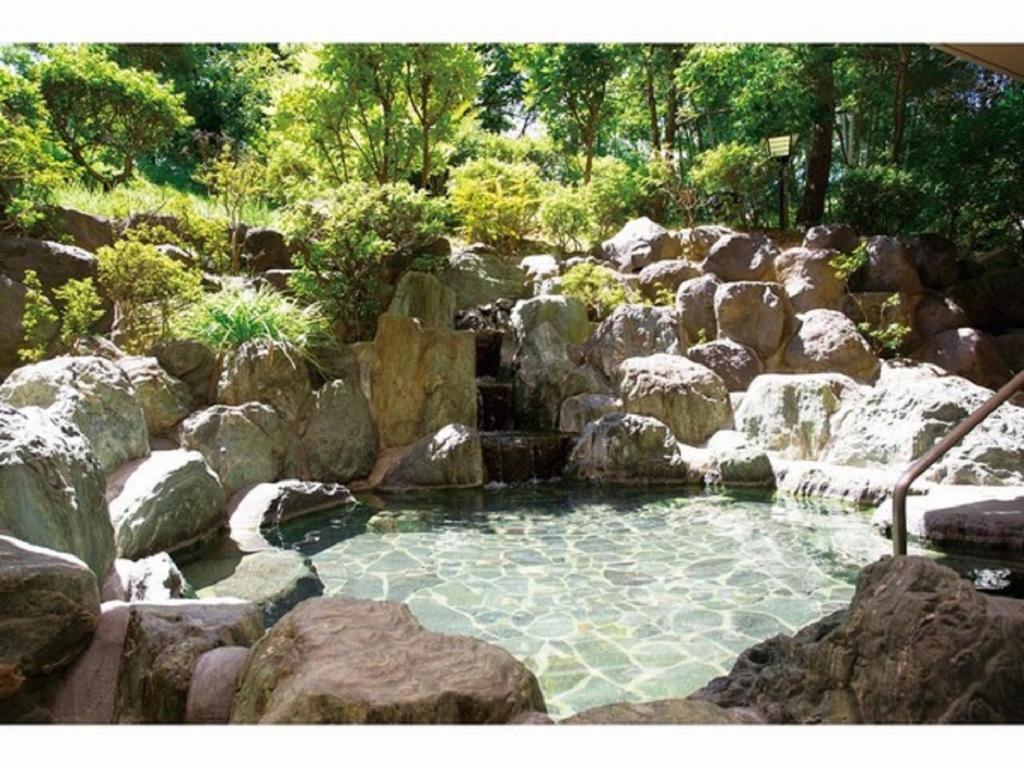 ポイント2.緑豊かな露天風呂