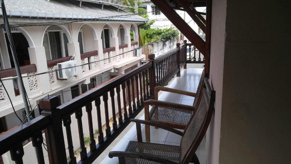 Балкон или терраса в Albert Guest