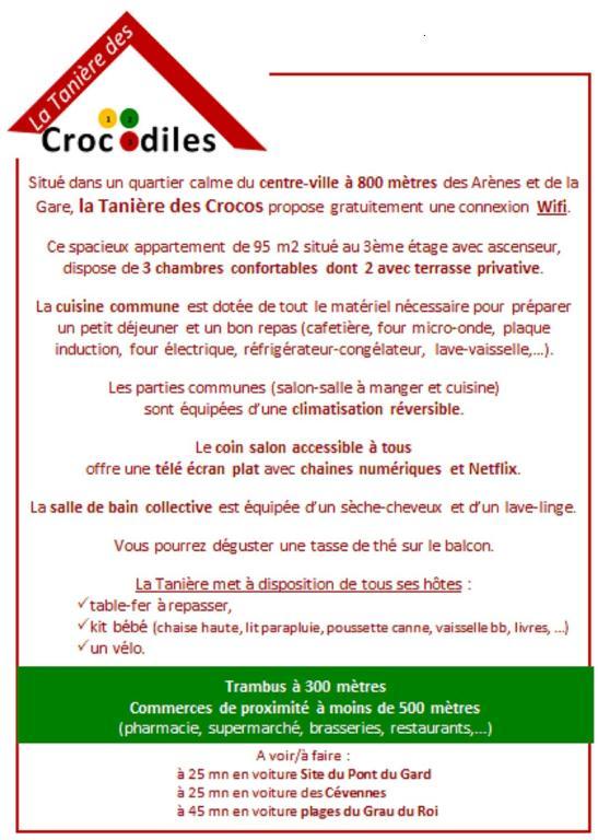 Ferienwohnung La Tanière Des Crocos Frankreich Nimes Booking Com