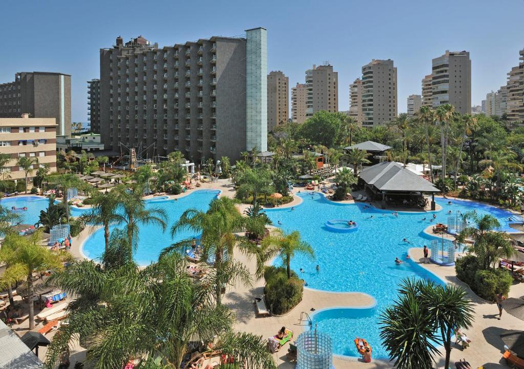 A view of the pool at Sol Principe or nearby
