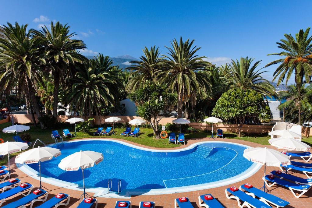 Het zwembad bij of vlak bij Sol Puerto de la Cruz Tenerife