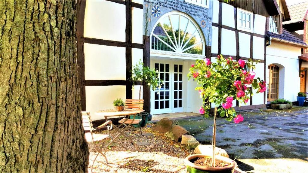 Ferienhaus Tolles Fachwerkhaus mit Garten (Deutschland Kalletal ...