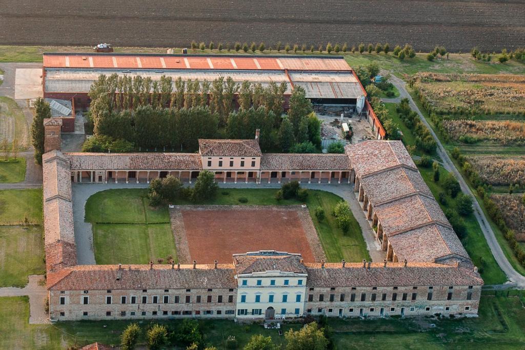A bird's-eye view of Corte degli Angeli Società Agricola e Agrituristica