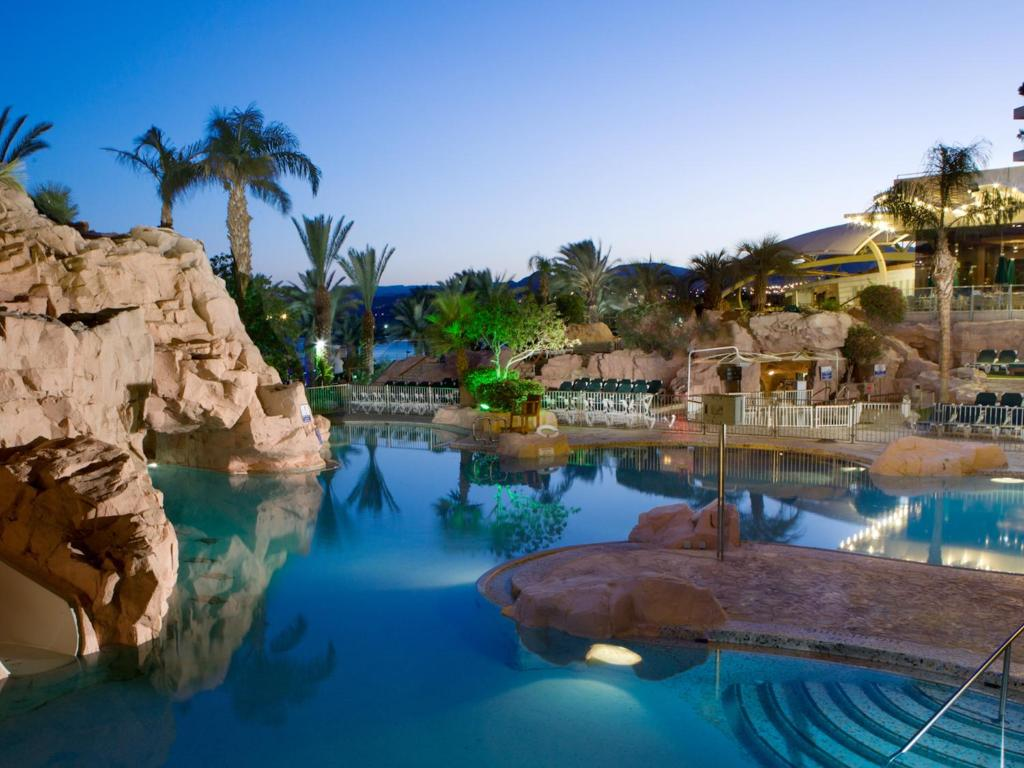 The swimming pool at or near Dan Eilat Hotel
