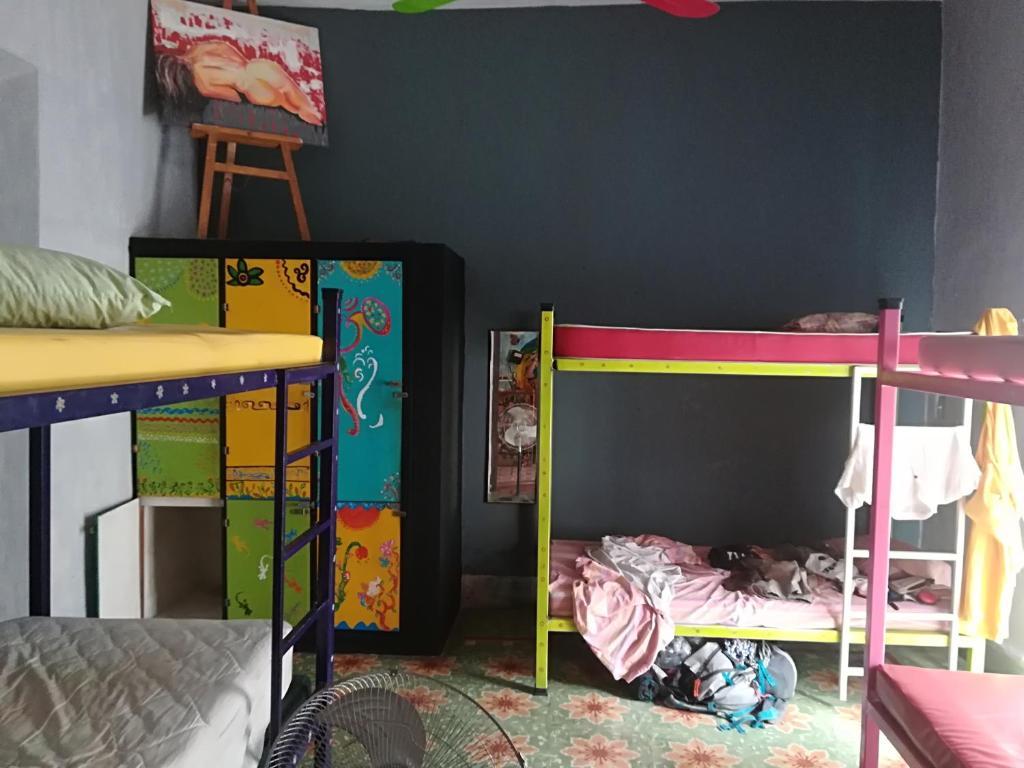 Etagenbett Zubehör Setup : Hostel la casa del tio rafa mexiko mérida booking.com