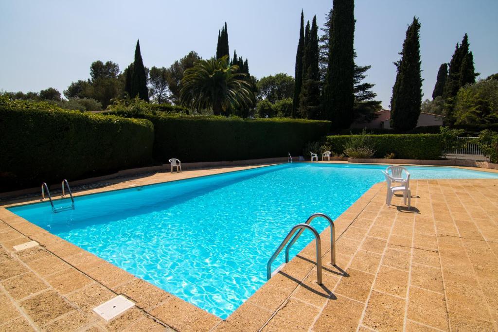 The swimming pool at or near Villa Ad Alta