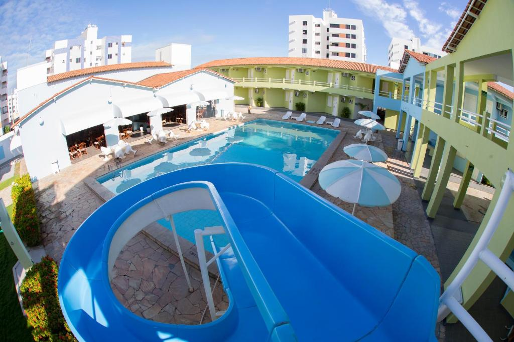 The swimming pool at or near Hotel Parque das Aguas
