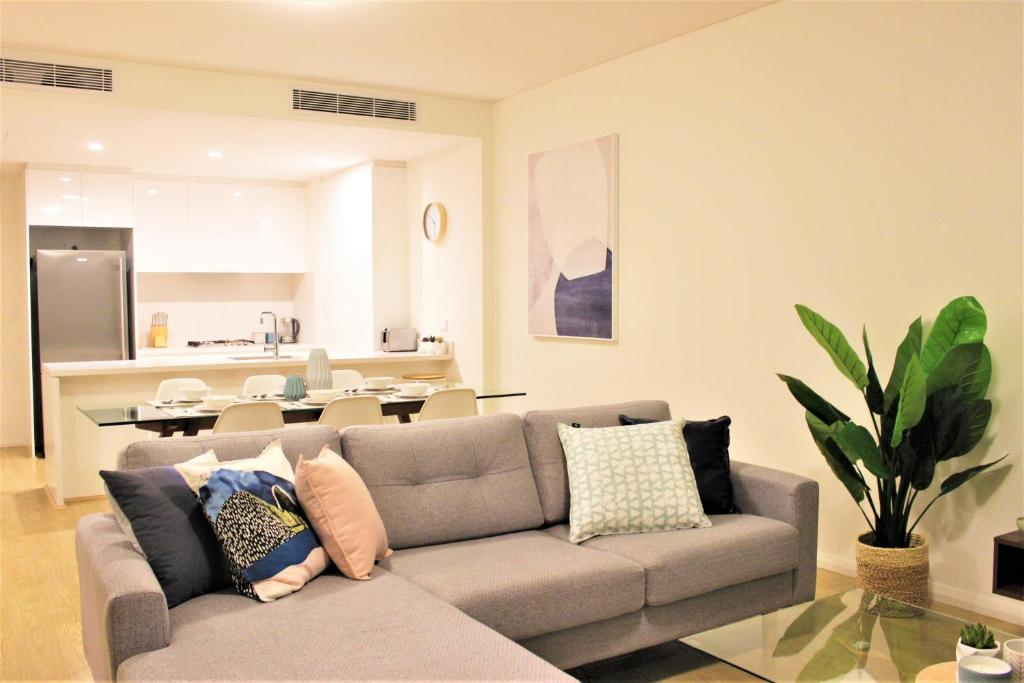 A seating area at The Allengrove – Exec 2 bed (MACALN1)