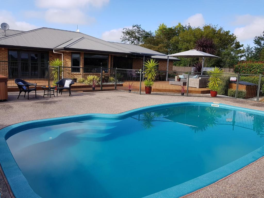 The swimming pool at or near Applecross Sanctuary