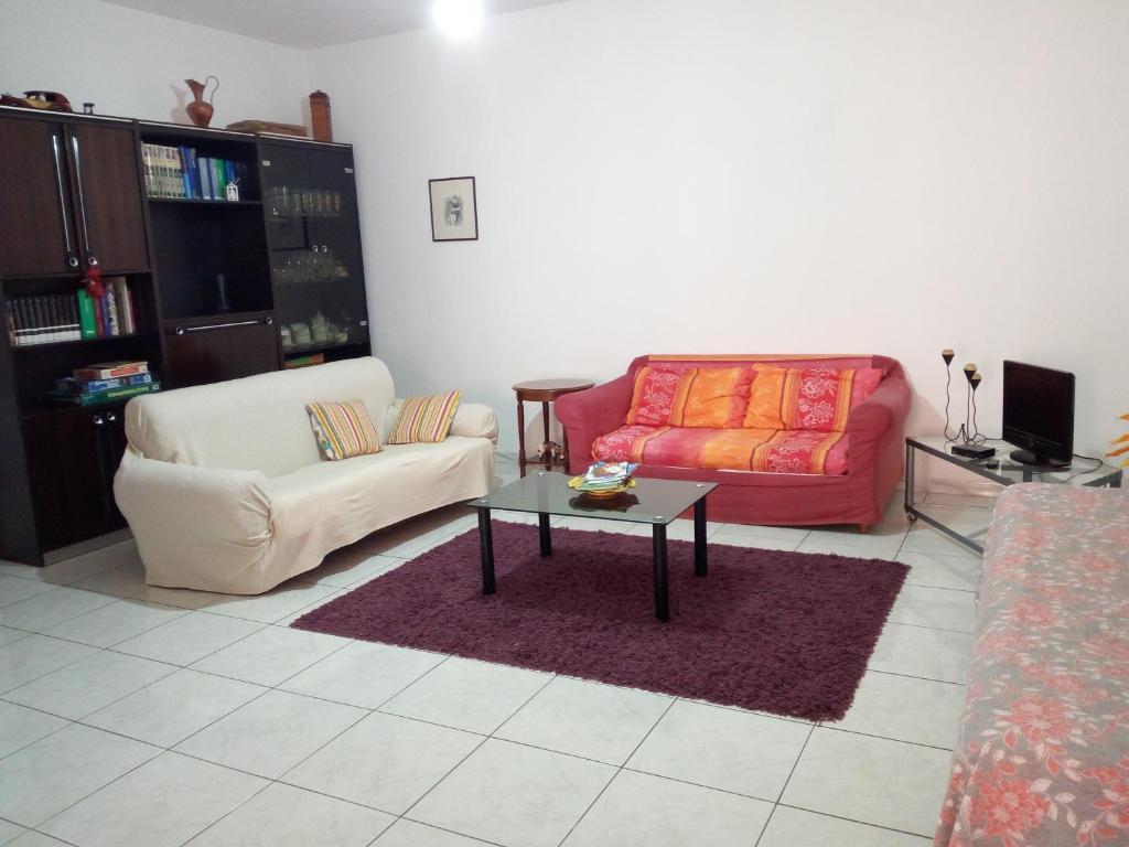 A seating area at La Mia Vacanza a Bosa Marina