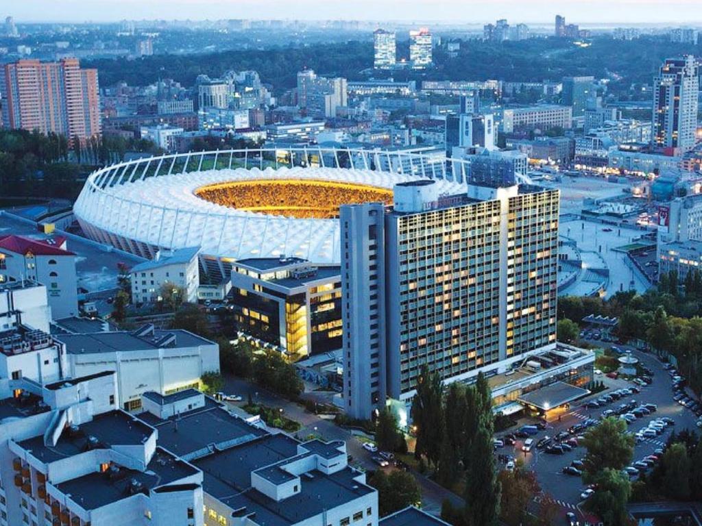 A bird's-eye view of Premier Hotel Rus