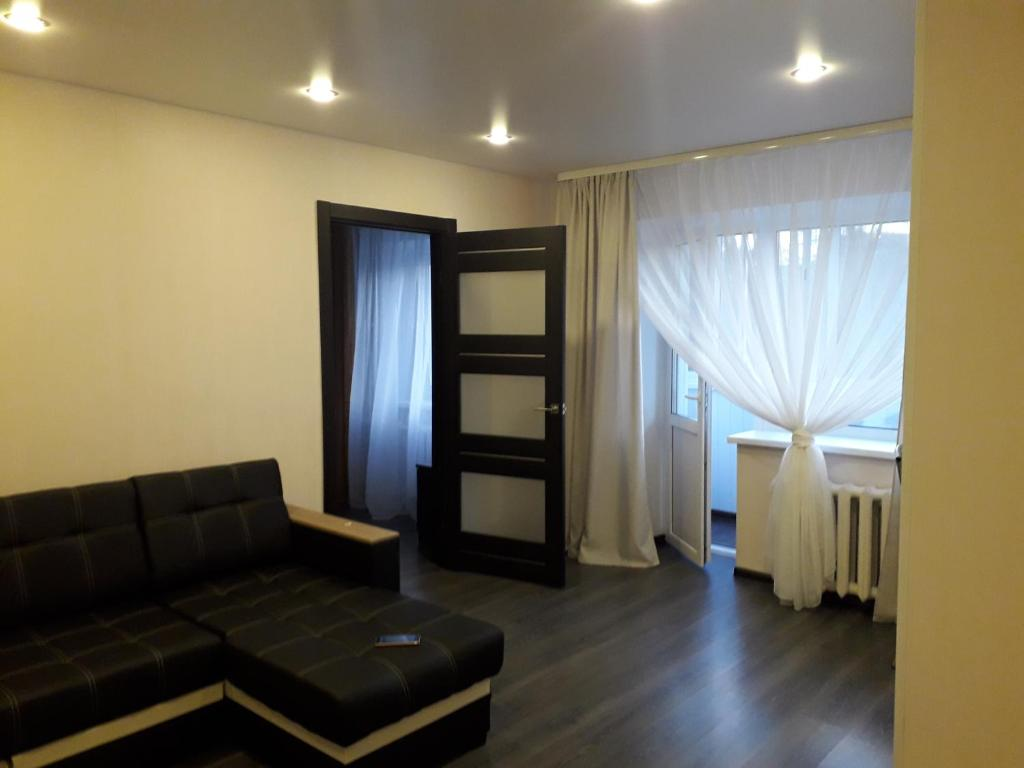 Гостиная зона в Apartment on Meretskova-Volosova