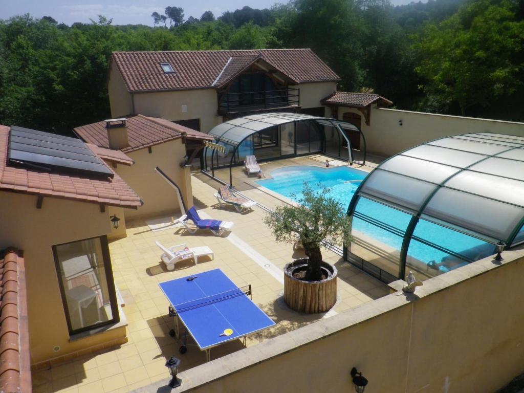Villa maison avec piscine chauffer spa jaccuzy france - Maison a louer barcelone avec piscine ...